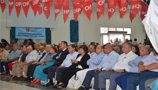 CHP Tarsus İLÇE YENİ YÖNETİM KURULU BELİRLENDİ