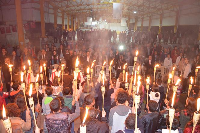 Anamur'da Cumhuriyetin 94. Yılı Kutlamaları
