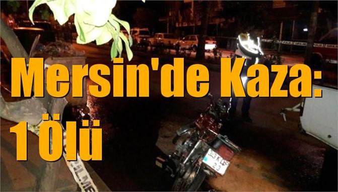 Mersin Anamur'da Kaza: 1 Ölü