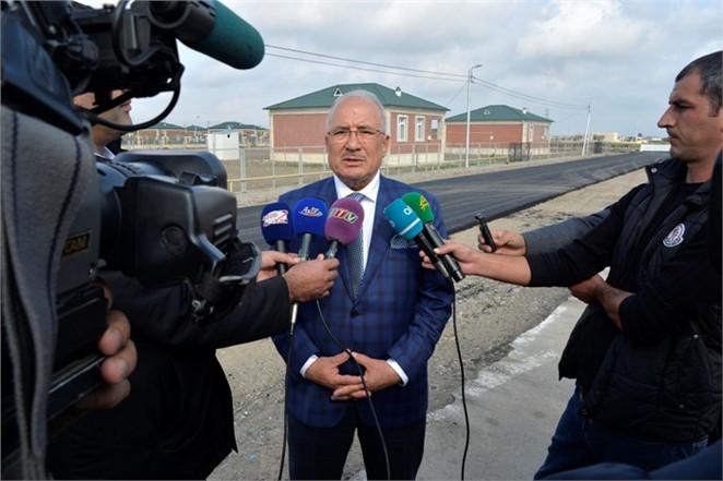 Başkan Kocamaz, Can Azerbaycan'da