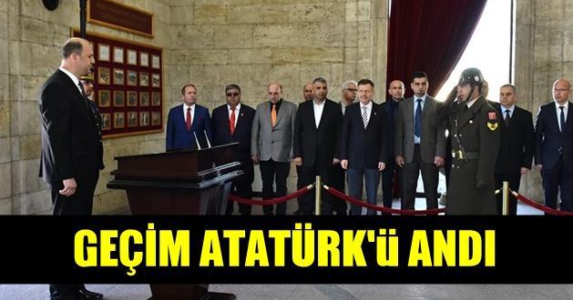 Tarsus Gazeteciler Cemiyeti Ata'sını Unutmadı