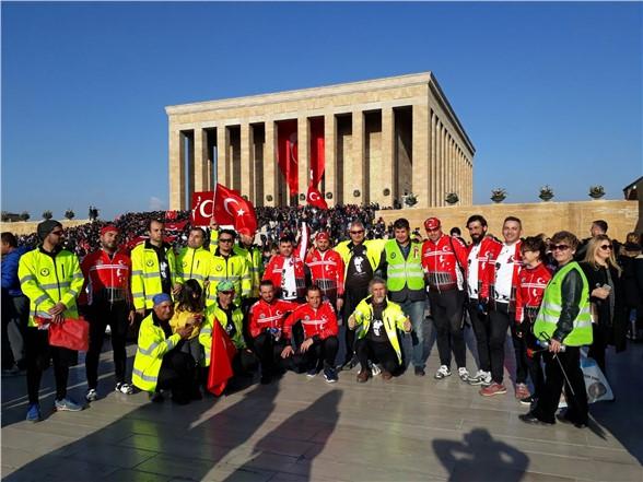 Pedallar Mustafa Kemal Atatürk İçin Çevrildi
