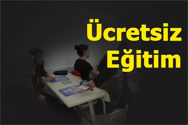 Erdemli'de Öğrencilere Ücretsiz Eğitim