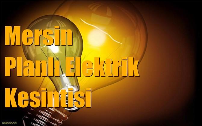 Planlı Elektrik Kesintileri (Mersin)