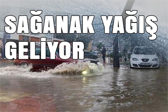 Mersin'e Yağmurlu Günler Geliyor,  3 Gün Yağış Var