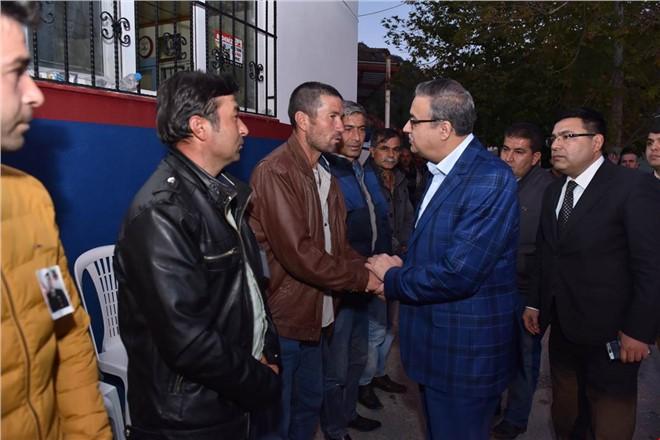 Vali Ali İhsan Su, Şehit Doğan İçin Okutulan Mevlit Programına Katıldı