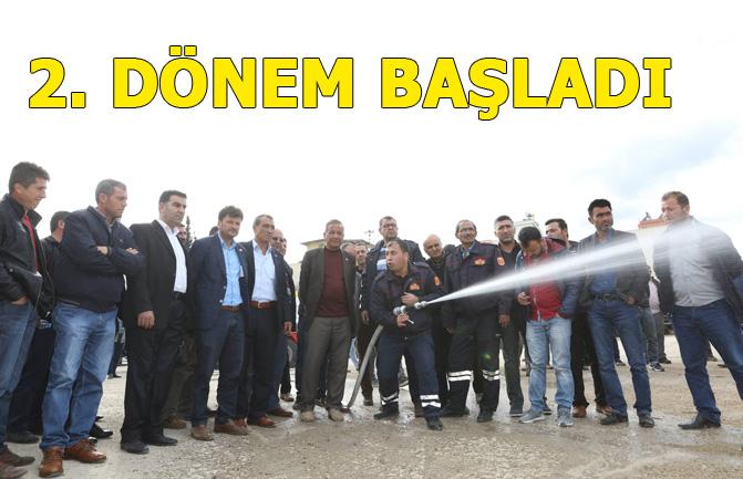 Mersin'de Gönüllü İtfaiyecilik Eğitim Programında 2. Dönem Kısmı Başladı