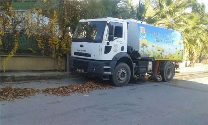Belediye Temizlik İşleri Tarsus'u Pırıl Pırıl Yapıyor
