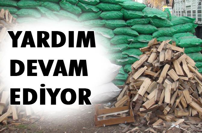 Ailelere 135 Ton Odun Yardımı