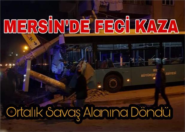 Mersin'de Korkutan Kaza. Çok Sayıda Yaralı Var
