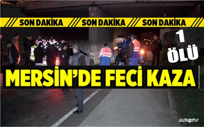Mersin'de Otomobil Yayaya Çarptı