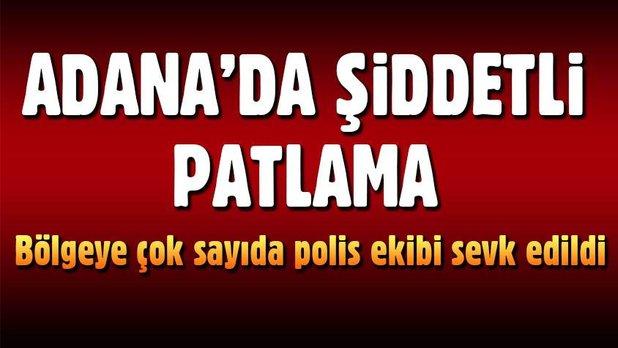 Son Dakika! Adana'da Patlama