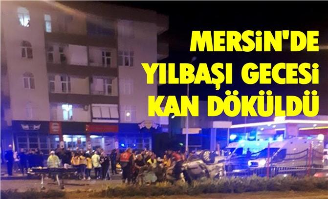 Mersin'de Yılbaşı Gecesi Feci Kaza