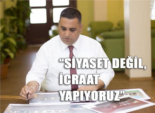 """Tarsus Belediye Başkanı Şevket Can """"Siyaset Değil, İcraat Yapıyoruz"""""""