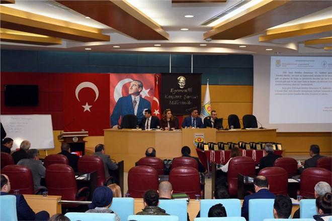 Tarsus Belediye Meclisi Yılın İlk Toplantısını Gerçekleştirdi