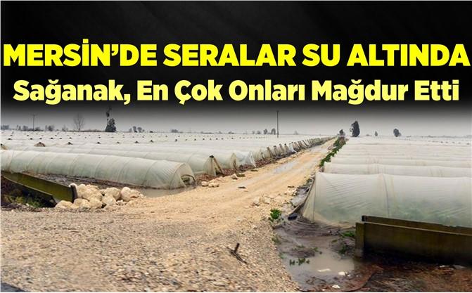 Mersin'de Tarım Alanları Su Altında