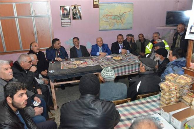 Mersin'de Bir Günde 11 Köy Ziyaret