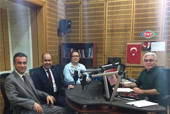MESKİ Alo 185 Çağrı Merkezi TRT Çukurova Radyosunda Tanıtıldı