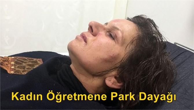 Kadın Öğretmene Park Dayağı