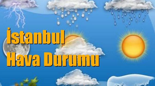 İstanbul Hava Durumu; 10 Ocak Çarşamba, 11 Ocak Perşembe, 12 Ocak Cuma, 13 Ocak Cumartesi tahminler