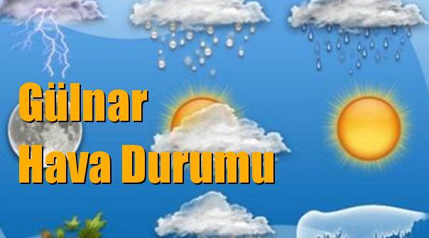 Gülnar Hava Durumu; 10 Ocak Çarşamba, 11 Ocak Perşembe, 12 Ocak Cuma, 13 Ocak Cumartesi tahminler