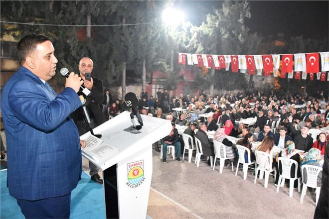 Gaziler Mahallesi'nde Başkan Can, Sevgisi Alana Sığmadı