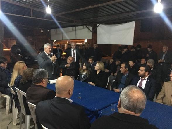 İyi Parti İlçe Başkanı Çelik, Selzedelere Geçmiş Olsun Ziyareti Yaptı
