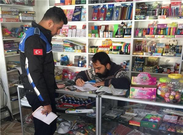 Tarsus'ta Zabıta ve Polis Sahte Karne Ele Geçirdi