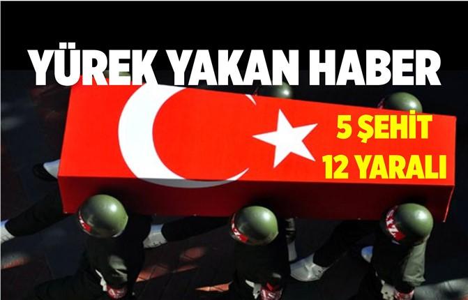 Bitlis'ten Acı Haber: 5 Şehit