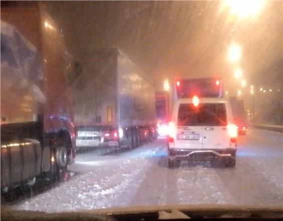 Yol Durumu: Yağan Kar Nedeniyle Tekir ve Pozantı'da Yollar Kapandı