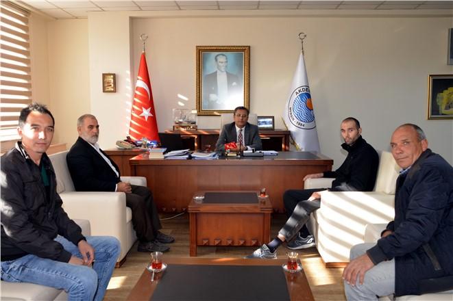 Başkan Pamuk, Mersinli Gazi Er Gökhan Gök'ü Ağırladı
