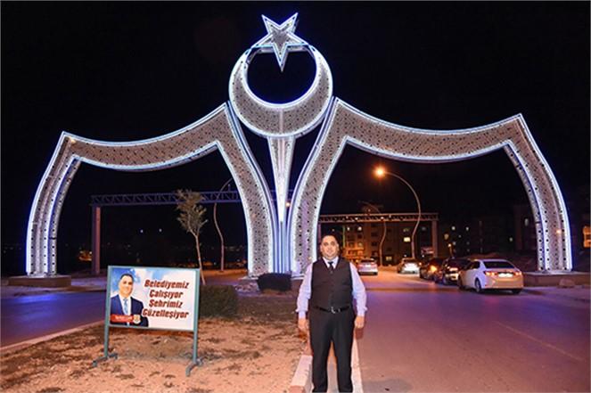 Tarsus Belediyesi Ledli Aydınlatma Çalışmasına Başladı
