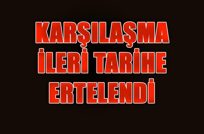 Mut İdmanyurdu - Ereğli Belediye Karşılaşması İleri Tarihe Ertelendi