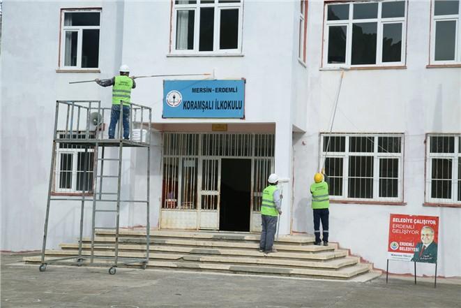 Erdemli'de Okullara Yönelik Hizmetler Son Sürat