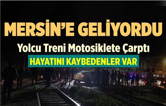 Mersin'e Gelen Tren Kaza Yaptı