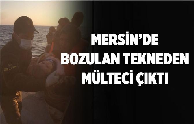Mersin'de Mültecileri Ölümden Sahil Güvenlik Kurtardı