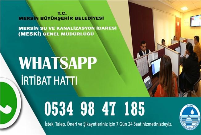 MESKİ Whatsapp Hattı Kurdu, Whatsapp Numarası: (0) 534 984 7 185