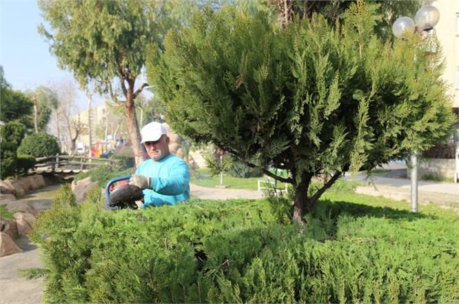 Toroslar'da, Park ve Yeşil Alanlar Elden Geçiyor