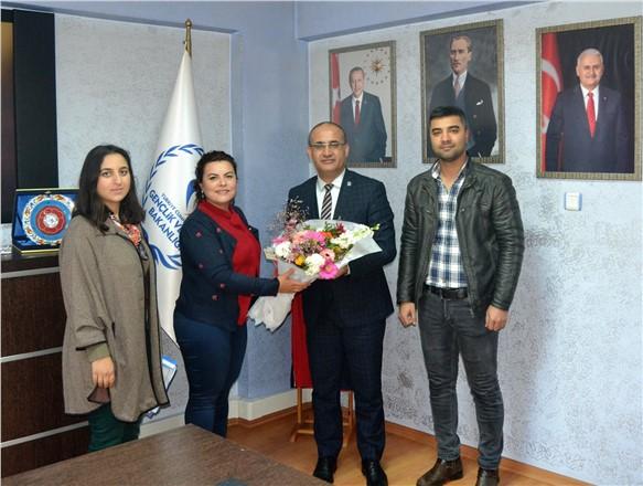 ŞEGED Mersin'den İl Müdürü Şaban Güneş'e Ziyaret