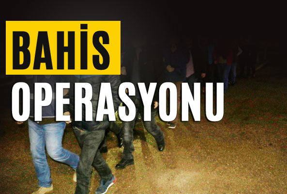 Bahis Çetesine Operasyon Adana, Mersin'de Var Toplam 9 İli Kapsıyor