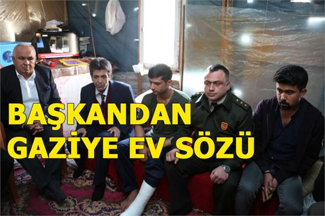 Erdemli Belediye Başkanından Gazi Culu'ya Ev Sözü