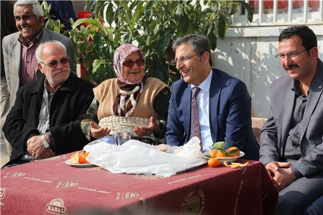 Akdeniz Belediye BaşkanıMuhittin Pamuk, Halkın Arasında