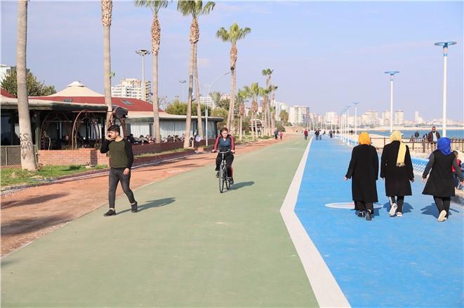 Kentsel Tasarım Projesi Uygulandı, İşte Mezitli Sahilinin Son Hali
