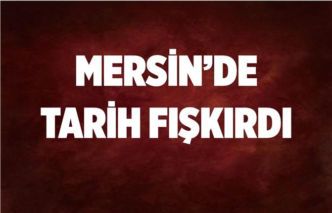 Mersin'deki Kazıdan 1300 Yıllık Tarih Fışkırdı