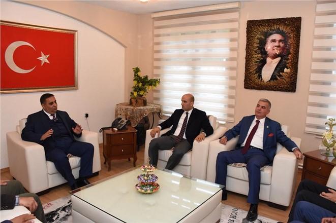 Genel Başkan Olcay Kılavuz'dan, Şevket Can'a Ziyaret