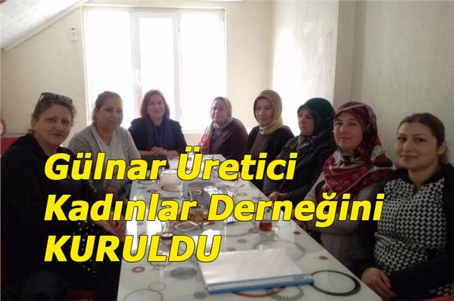Gülnar'da Üretici Kadınlar Derneği Kuruldu