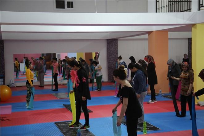 Belediye Spor Merkezi Kadın ve Çocukların En Önemli Üssü Haline Geldi
