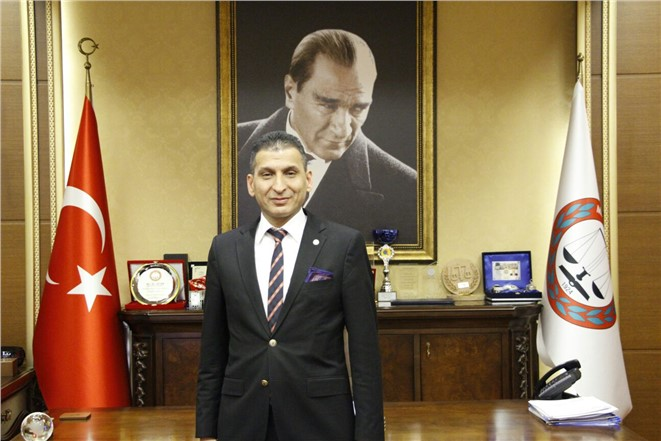 Mersin Barosu Başkanı Er, Tıp Bayramını Kutladı