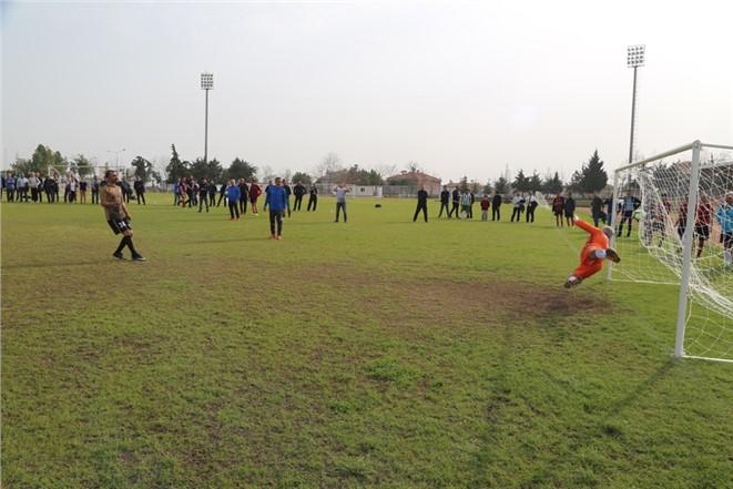 MESKİ Birimler Arası Futbol Turnuvası Yarı Final Heyecanı