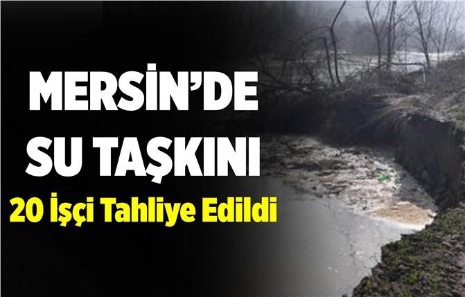 Mersin'de Aşırı Yağış Su Taşkınına Sebep Oldu
